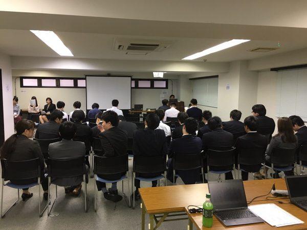 2018年の『合同新入社員研修』